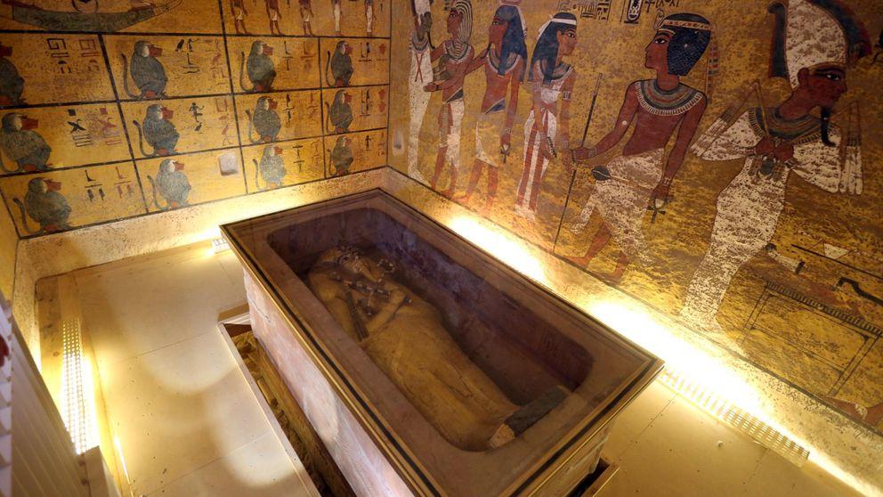 Egipto cree al 90% que hay una cámara secreta tras la tumba de Tutankamón