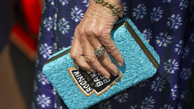 El anillo de compromiso de Camilla. (Getty)