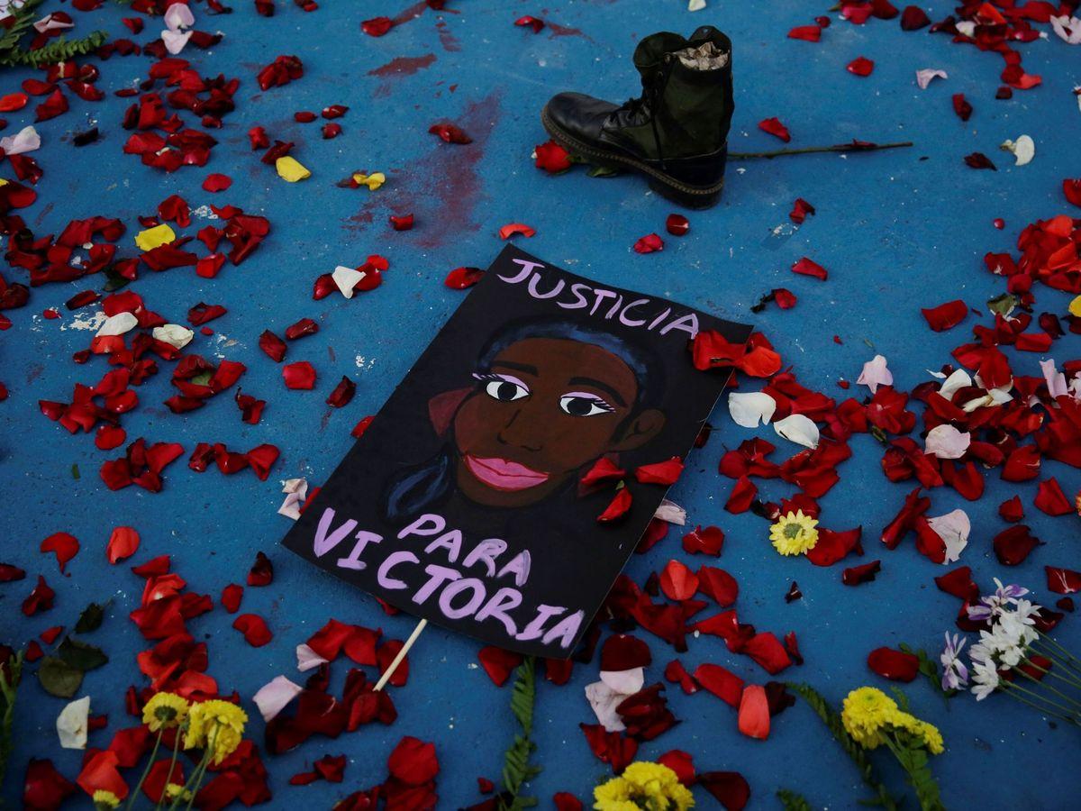 Foto: Más allá de George Floyd: el asesinato de Victoria Salazar. Foto: Efe