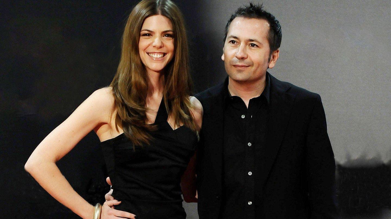 Manuela Velasco y Rafa Castejón, en un estreno. (Getty)