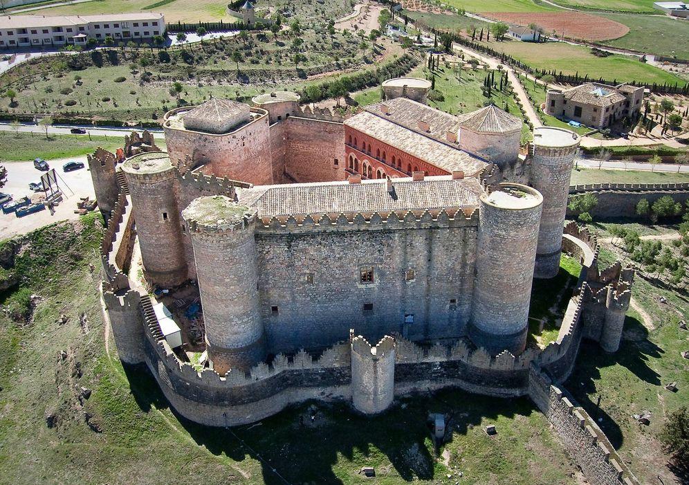 Foto: El castillo de Belmonte ha sido plató de cine. (Cortesía Palacio Buenavista)