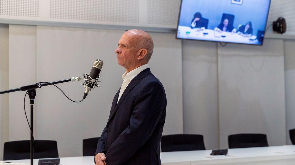 Foto: El exgeneral chavista Hugo Carvajal, durante la vista celebrada en la Audiencia Nacional. (EFE)