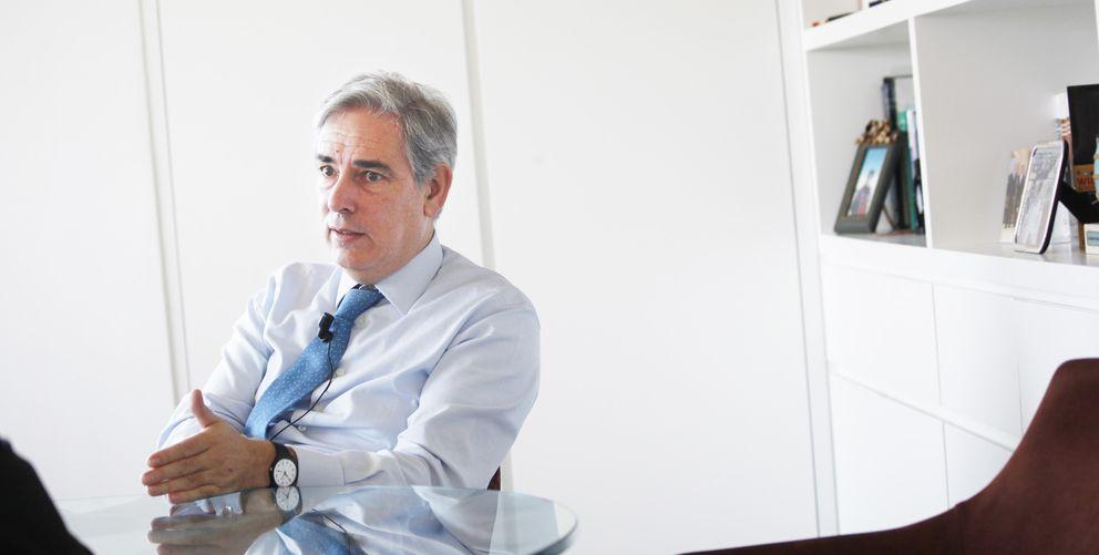 Antonio Fernández-Galiano, presidente ejecutivo de Unidad Editorial (E. Villarino)
