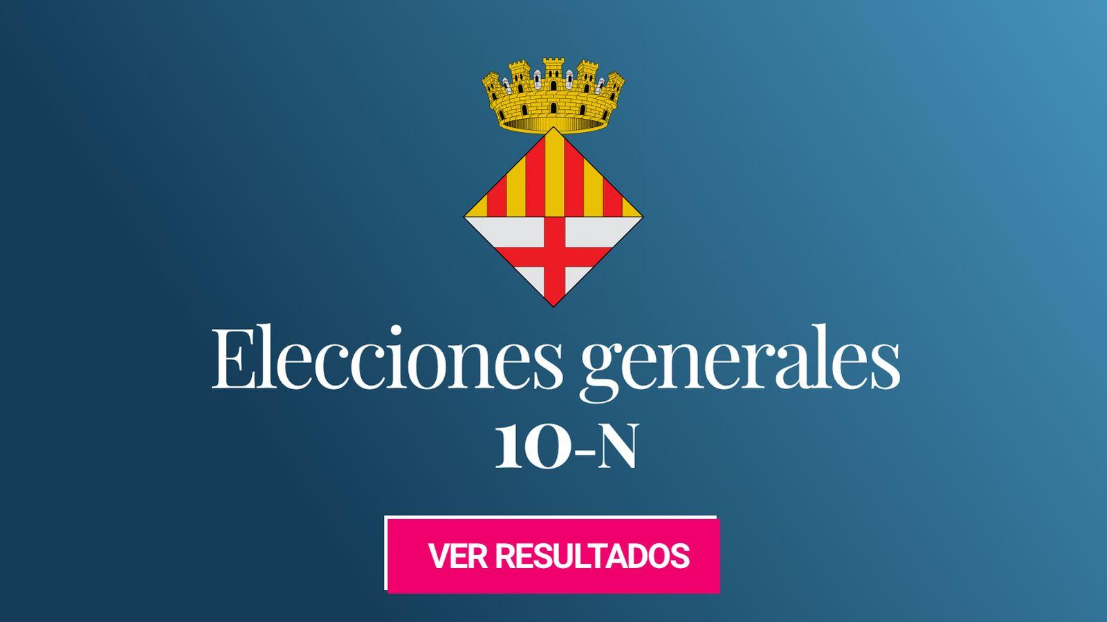 Foto: Elecciones generales 2019 en Manresa. (C.C./EC)