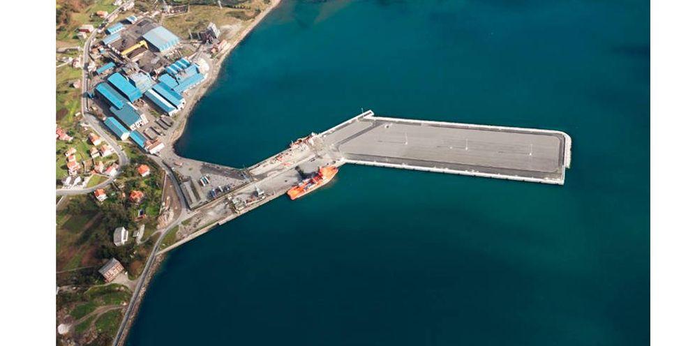 Foto: Fábrica de Ferroglobe en Cee. (Foto: Ferrogloble)