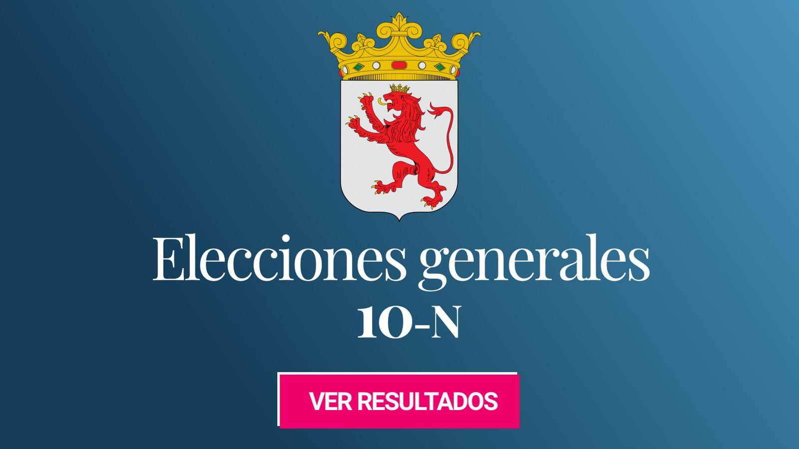 Foto: Elecciones generales 2019 en León. (C.C./EC)