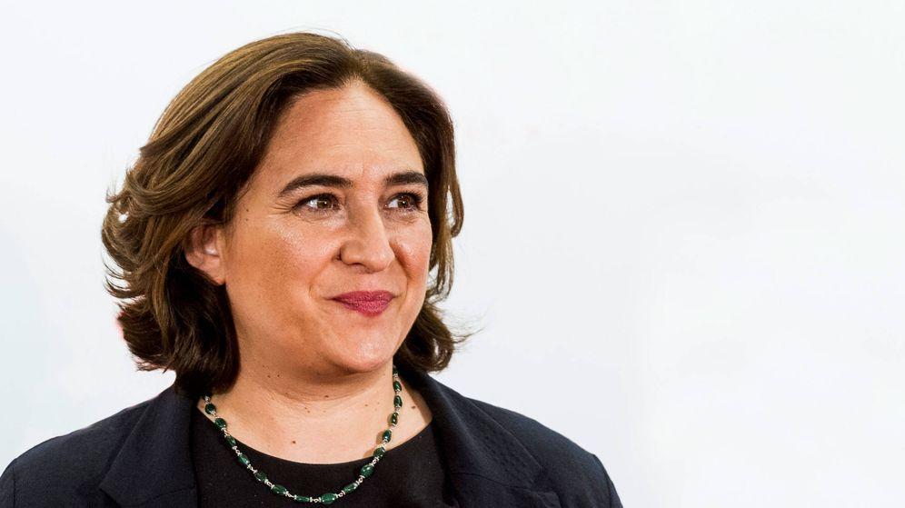 Foto:   La alcaldesa de Barcelona, Ada Colau. (Getty)