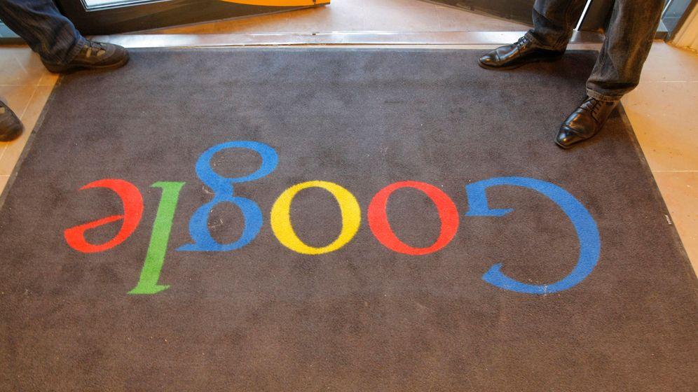 Foto: Entrada de la sede de Google en París