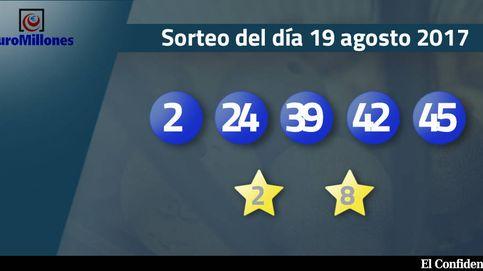 Resultados del sorteo del Euromillones del 18 de agosto de 2017