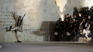 Europa muerde el polvo en Grecia