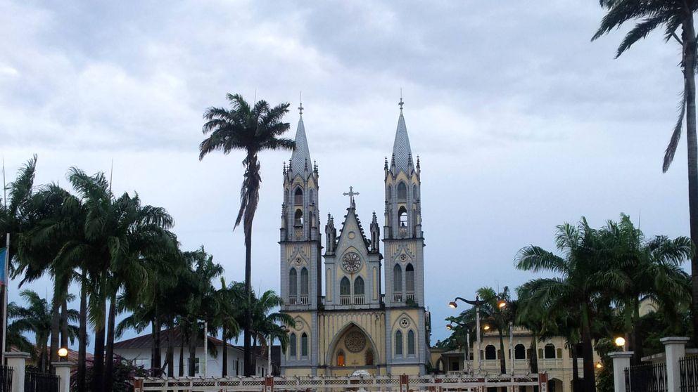 Un incendio destruye la catedral de Malabo, la Notre Dame de Guinea Ecuatorial