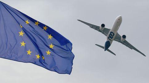 """'Tijeretazo' de Credit Suisse a las aerolíneas europeas: """"Pasan turbulencias"""""""