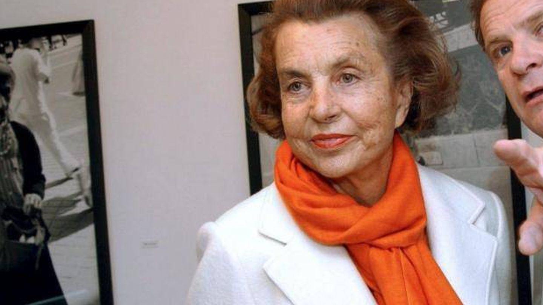 Lilianne Bettencourt con François-Marie Banier.