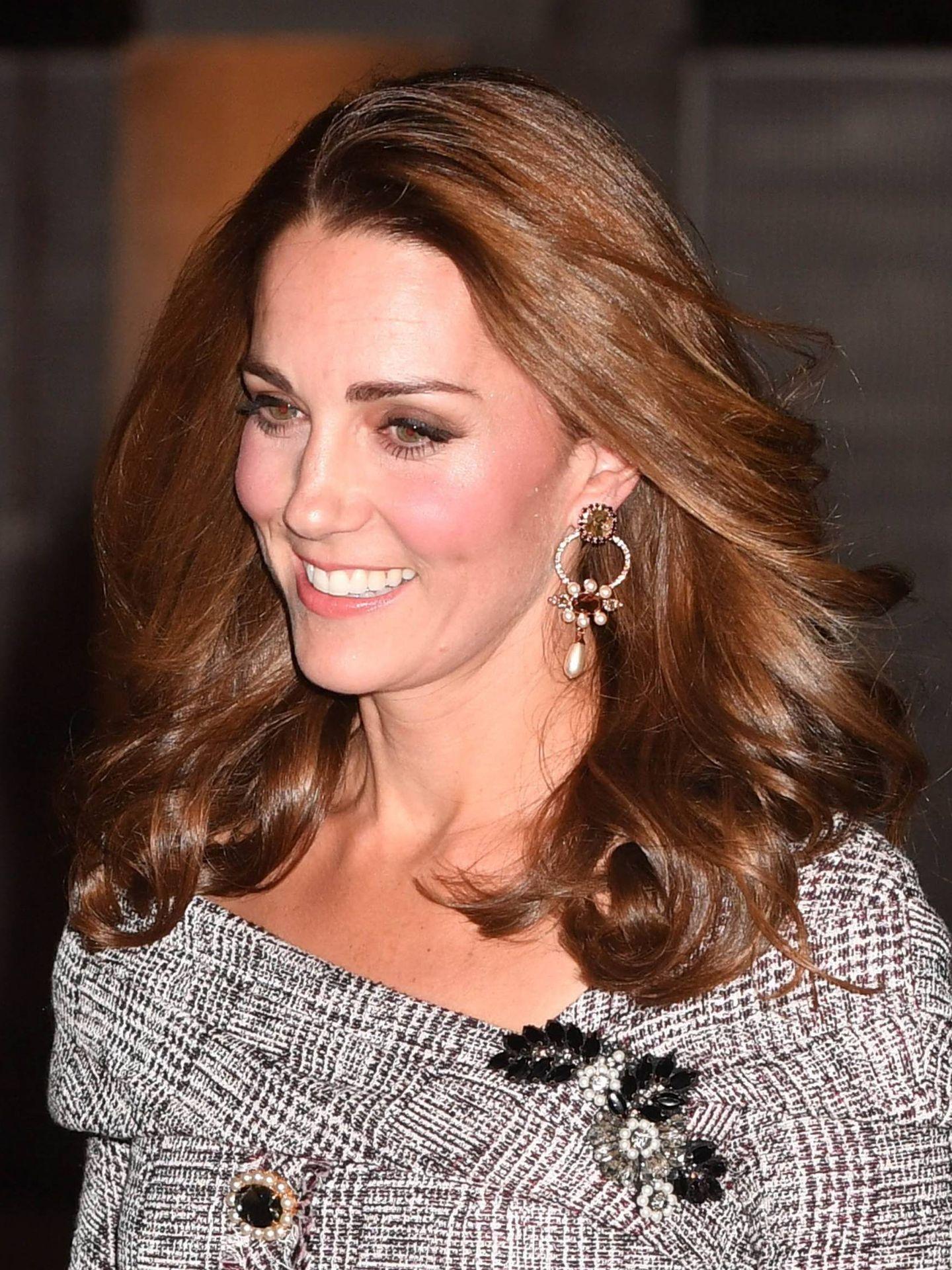 Kate Middleton, en el Albert Museum en 2020. (Cordon Press)