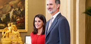 Post de La herencia fantasma de Juan Ignacio Balada a los reyes Felipe y Letizia