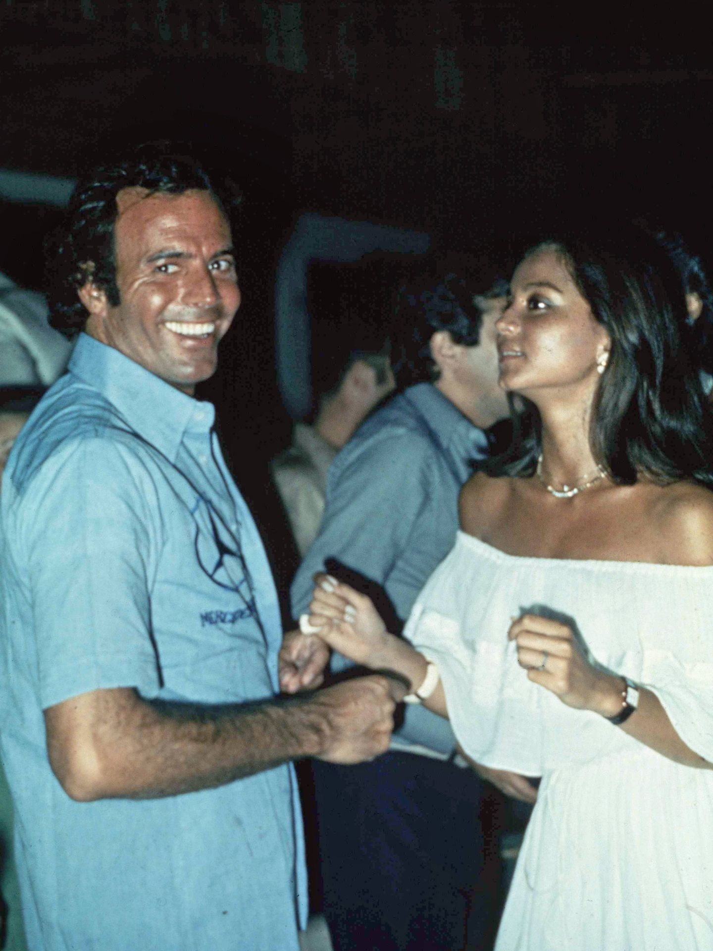 Julio Iglesias e Isabel Preysler en una imagen de archivo
