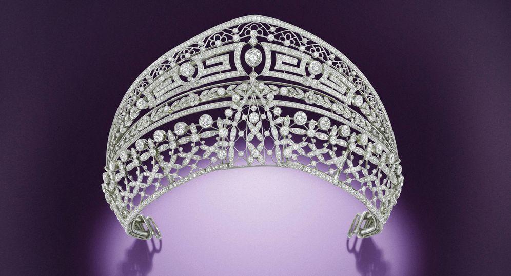 Foto: La tiara de la dama de Victoria Eugenia. (Bonhams Londres)