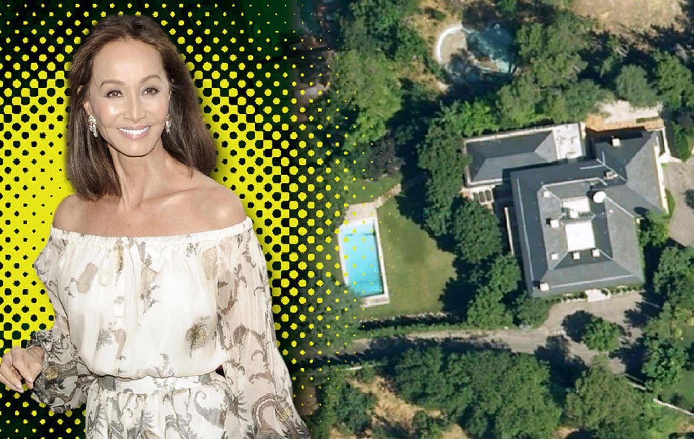 Foto: Isabel Preysler y vista aérea de su casa