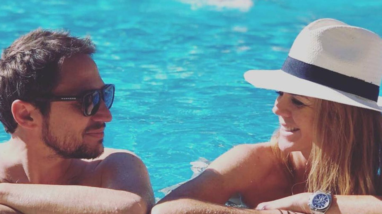Manuel Martos y Amelia Bono, antes de su ruptura. (Instagram @manuelmartos78)
