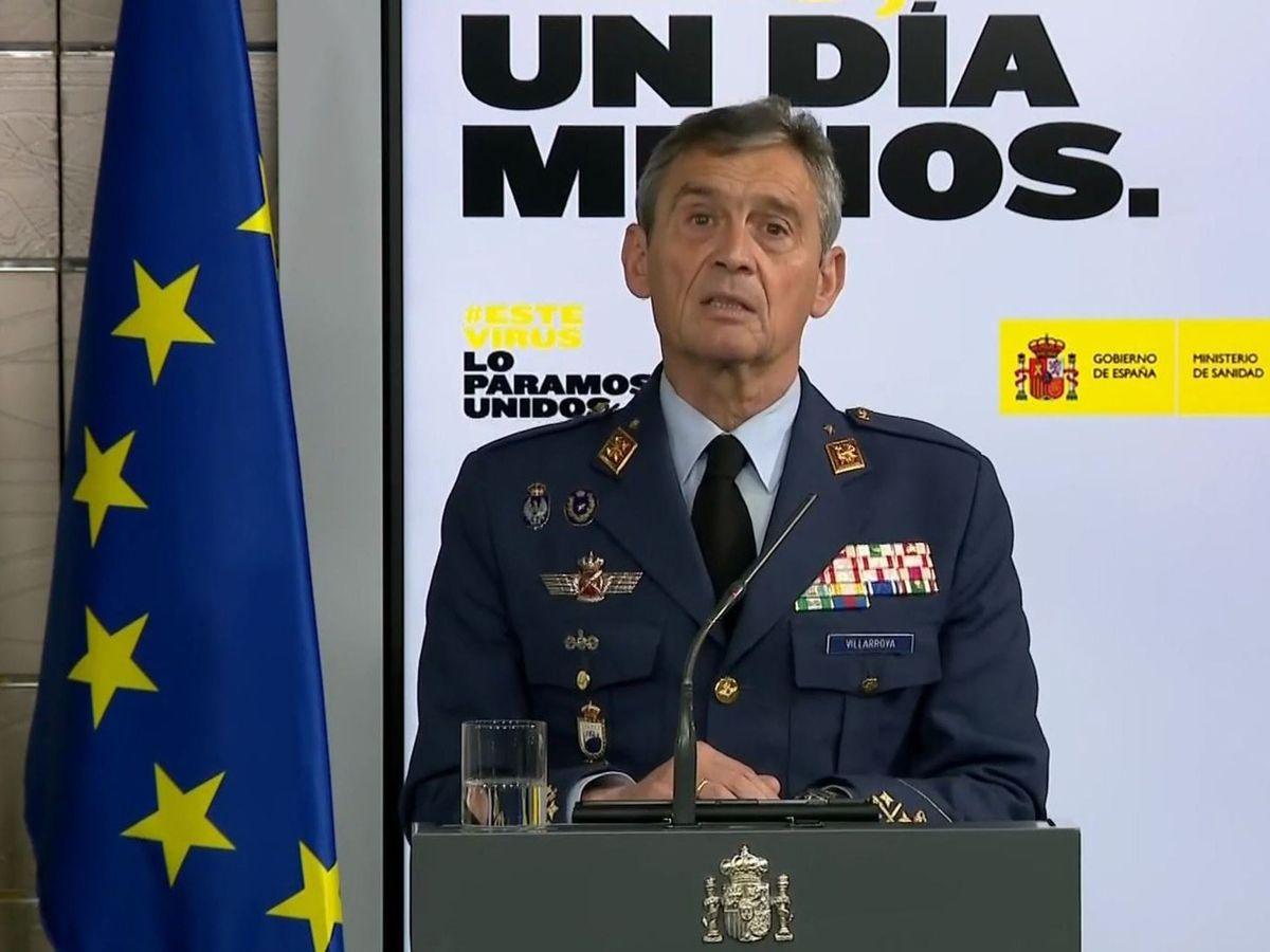 Foto: El Jemad en una de sus comparecencias diarias. (EFE)