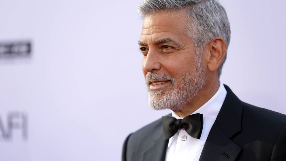 George Clooney, hospitalizado tras sufrir un accidente de moto en Cerdeña