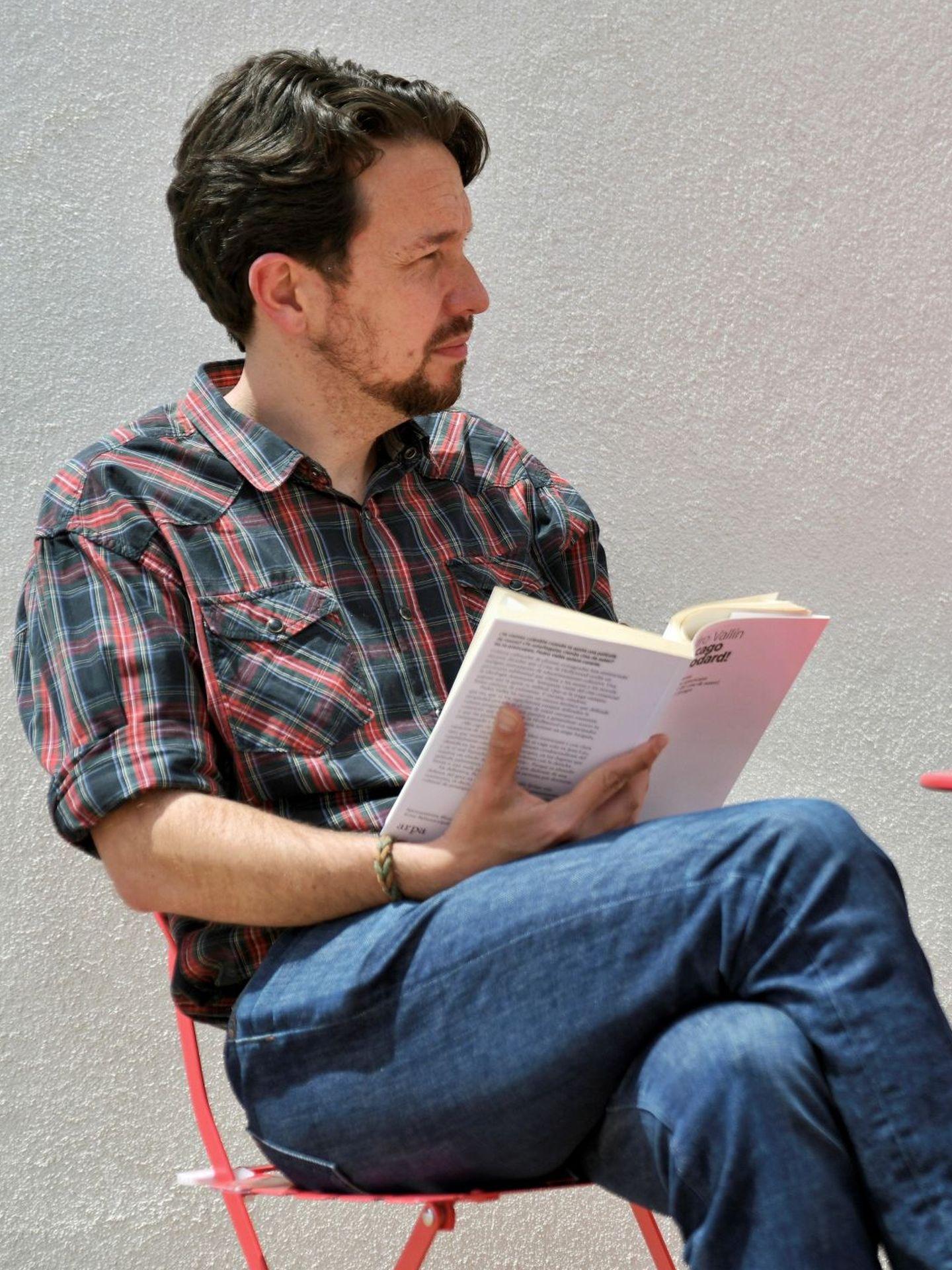 El ex secretario general de Podemos, Pablo Iglesias. (Dani Gago)