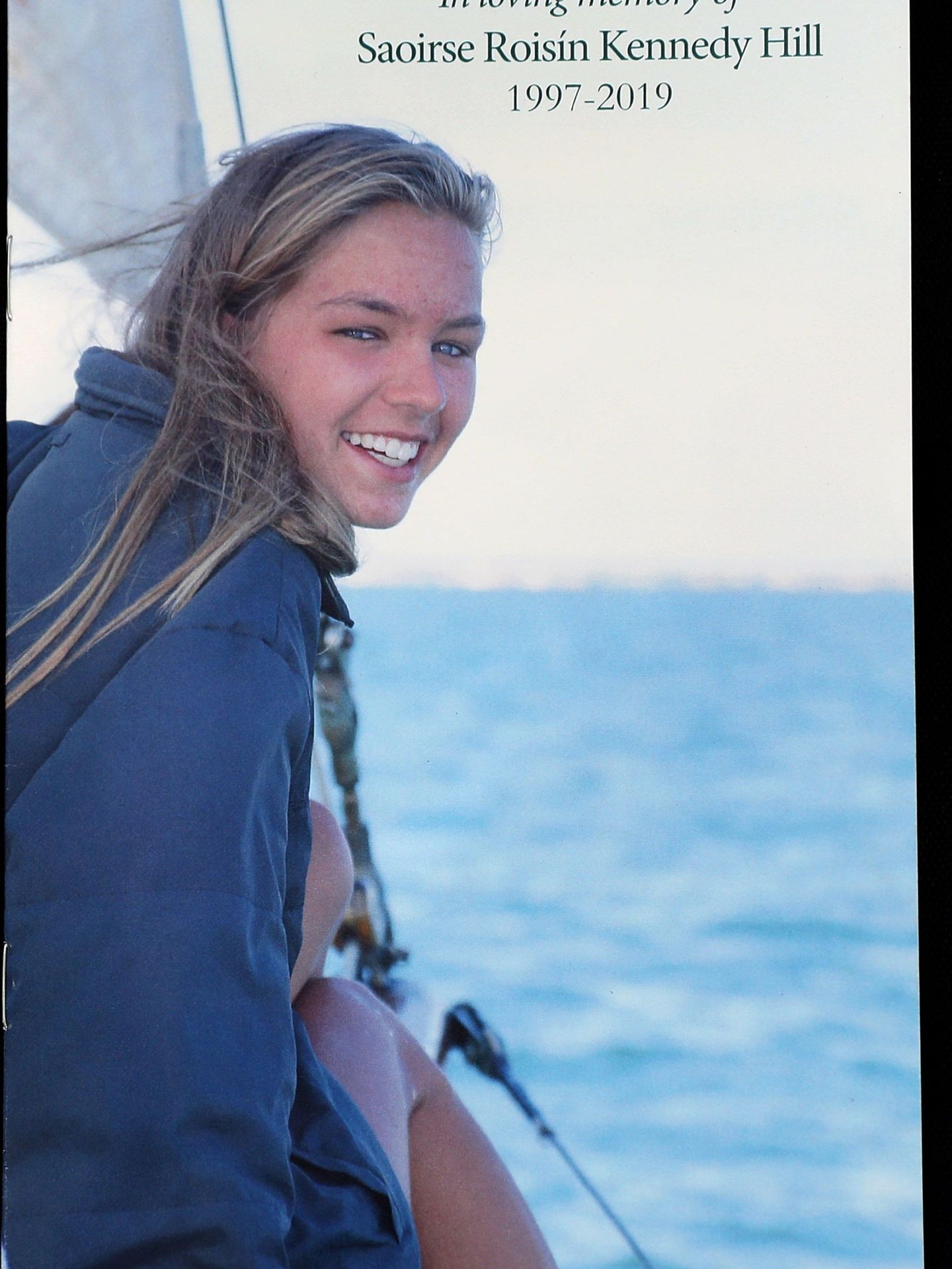 Saoirse Kennedy Hill falleció el pasado mes de agosto por una sobredosis. (EFE)