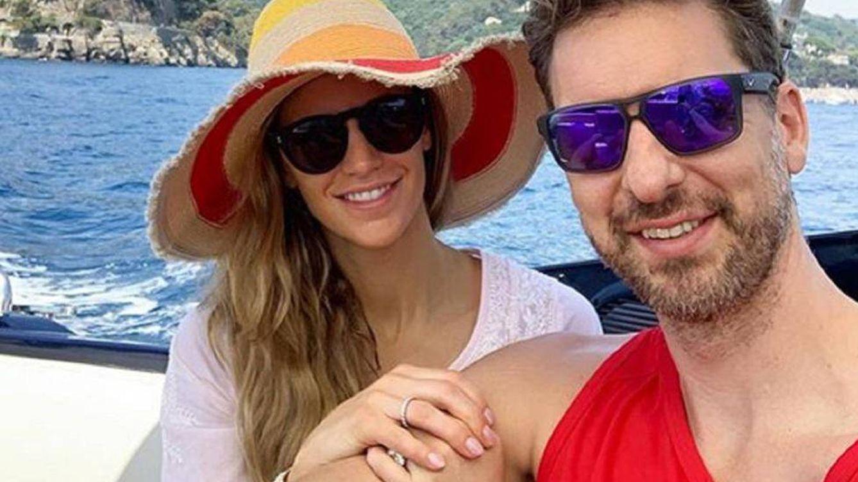 Pau Gasol y Catherine McDonnell: luna de miel idílica en la costa italiana