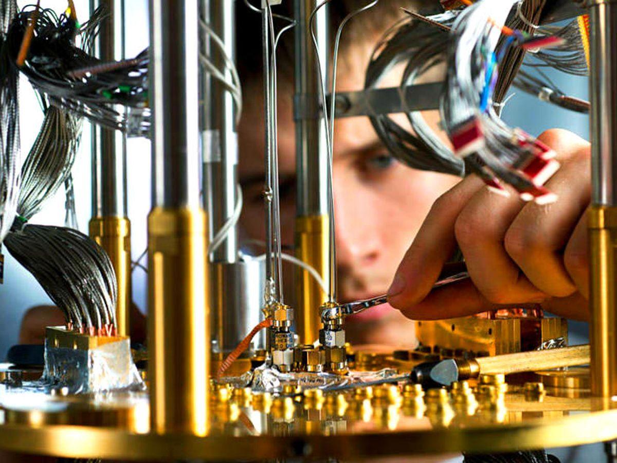 Foto: Prototipo de un ordenador cuántico de D-Wave