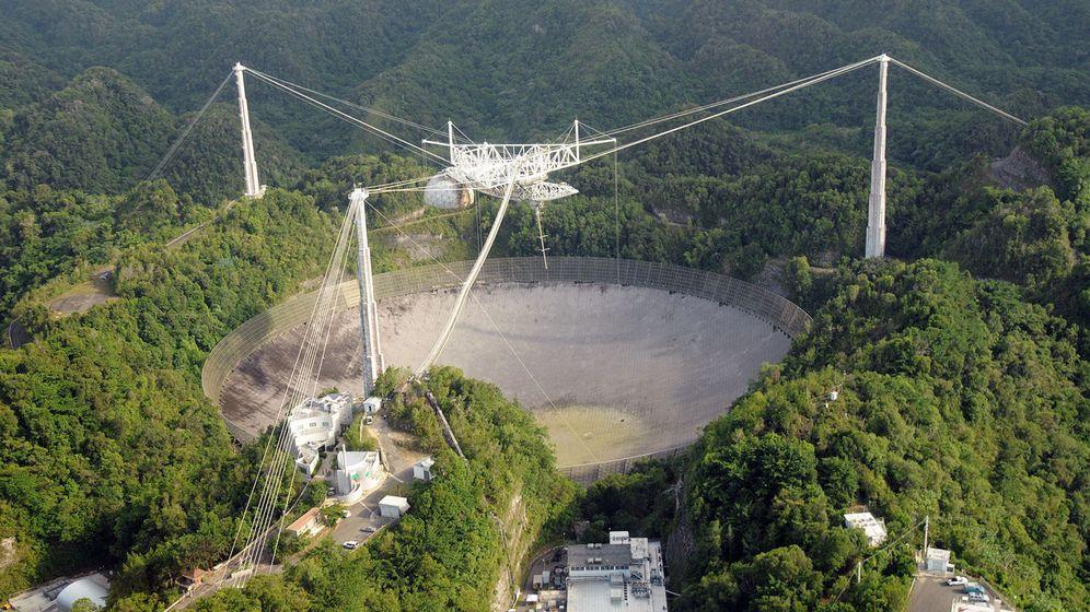 Foto: Observatorio de Arecibo. Foto: EFE.