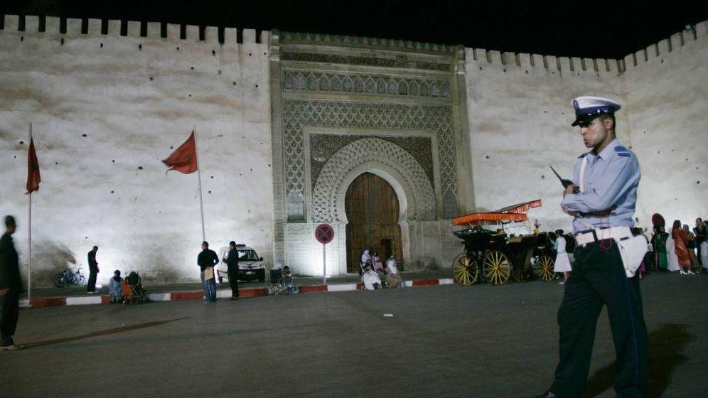 Foto: Policía en Marruecos.