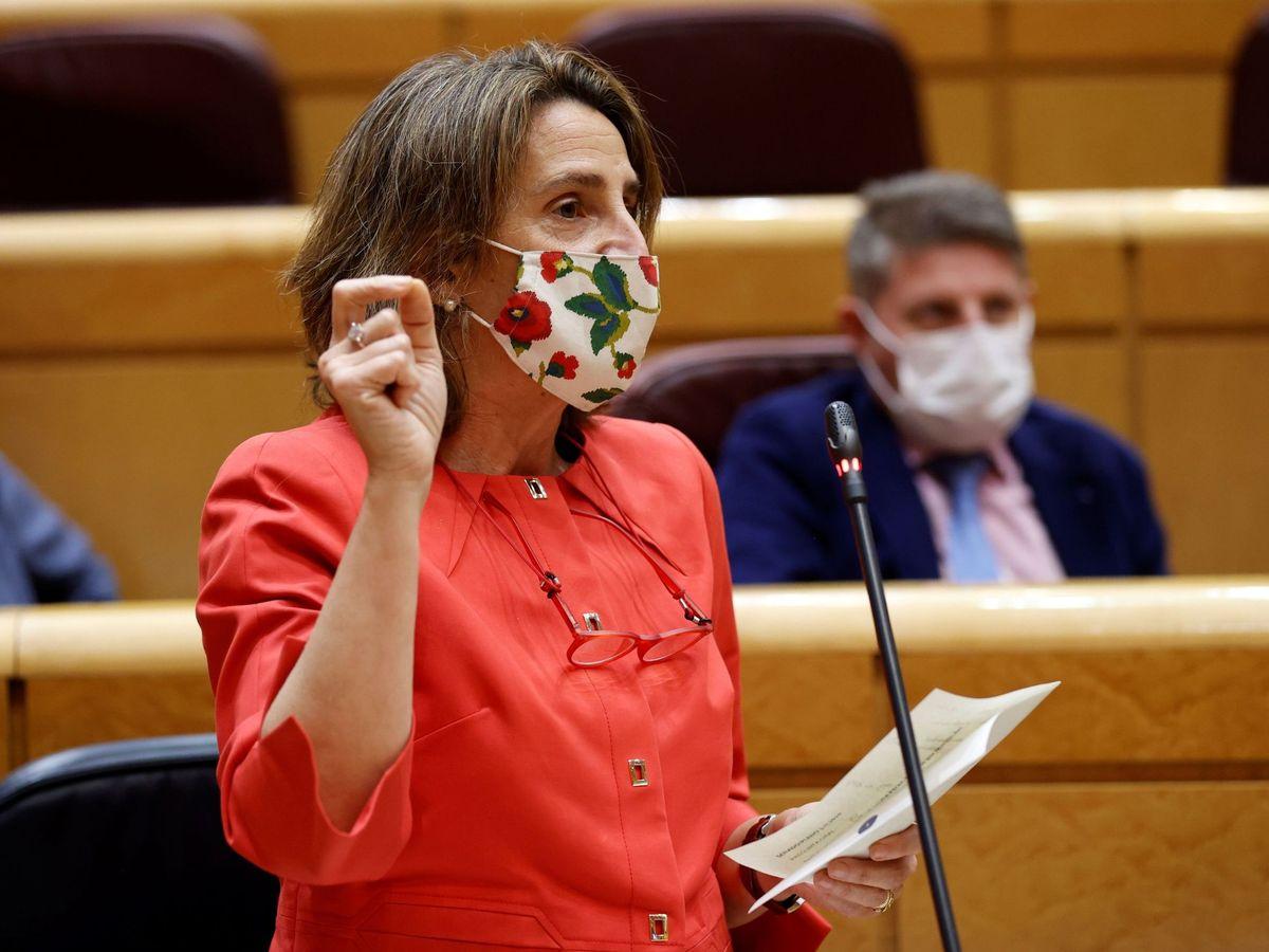 Foto: La vicepresidenta cuarta del Gobierno y ministra para la Transición Ecológica, Teresa Ribera. (EFE)