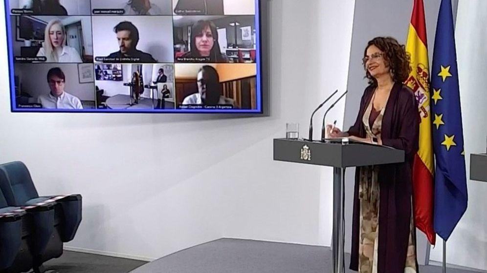 Foto: Ministra de Hacienda, María Hesús Montero (EFE)