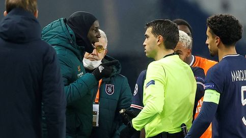 El Basaksehir abandona su partido contra el PSG por comentarios racistas del 4º árbitro