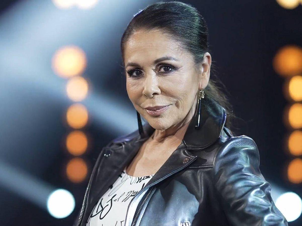 Foto: Isabel Pantoja, en 'Top Star'. (Mediaset)