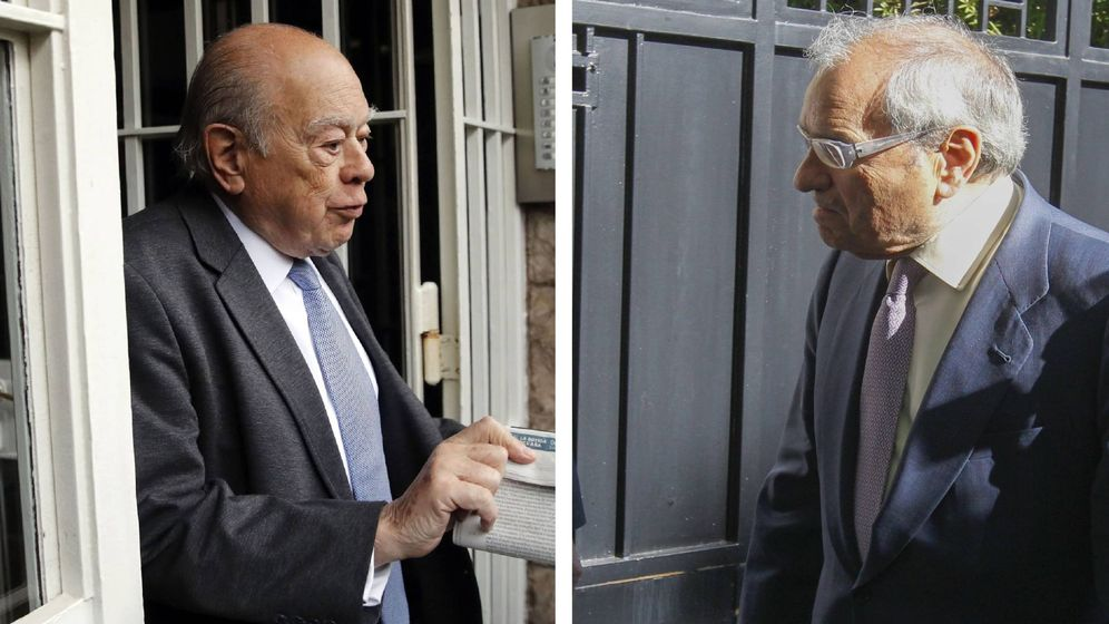 Foto: Jordi Pujol y Rodolfo Martín Villa, en un montaje. (EC)