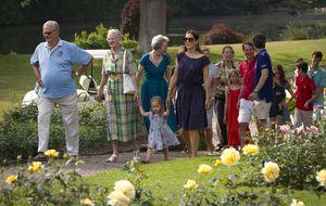 La feliz estampa familiar de los royals daneses