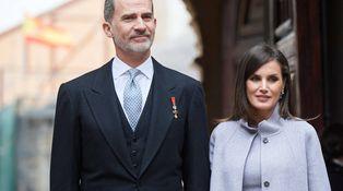 Lo más atrevido del look de la reina Letizia en el Premio Cervantes son los zapatos