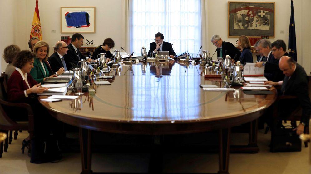 Foto: Reunión del Consejo de Ministros presidida por Mariano Rajoy. (EFE)