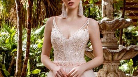 Vestidos originales de novia que no son blancos pero sí ideales