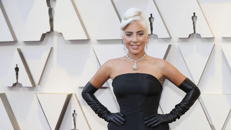 El estilismo elegido por Gaga aún más de cerca. (Reuters)
