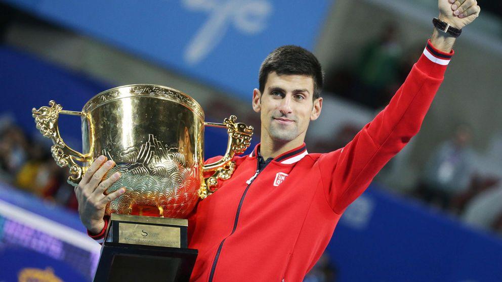 Un Djokovic inalcanzable deja a Nadal sin título en el China Open