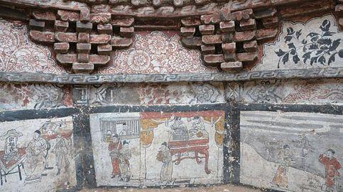 La tumba que revela cómo era la vida del imperio creado por Genghis Khan