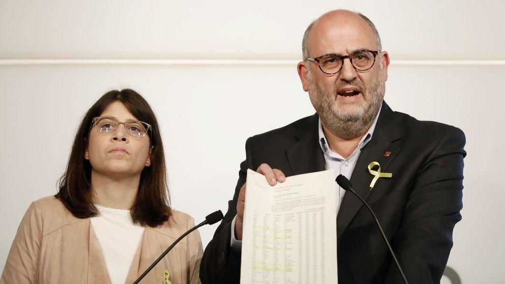 Los radicales de JxCAT abogan por salir del Parlament y dejar las instituciones