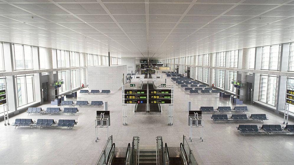 Foto: Obra realizada en el aeropuerto de Málaga. (Sando)