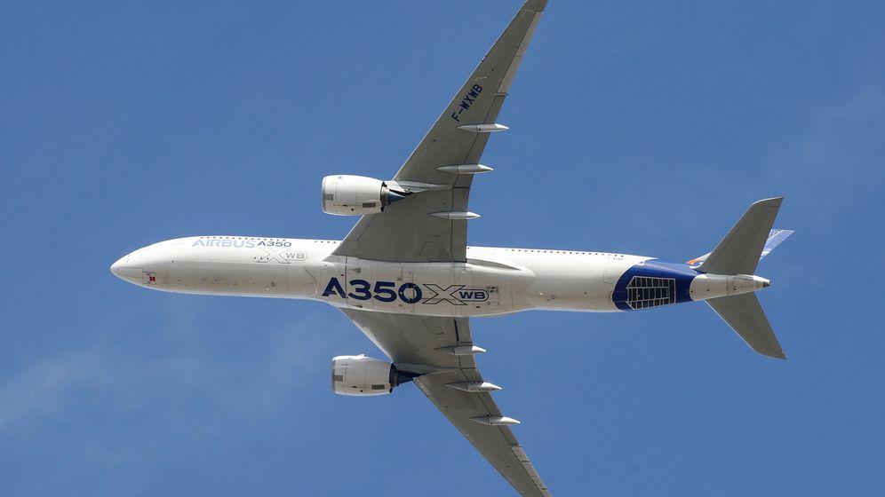Foto: Un modelo A350 en Toulouse. (Reuters)