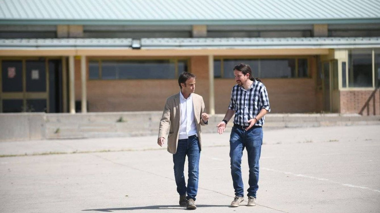 Pablo Iglesias visita a Jordi Cuixart en Soto del Real para favorecer el diálogo