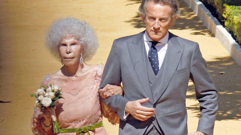 Foto: La boda de Cayetana de Alba y Alfonso Díez (Gtres)