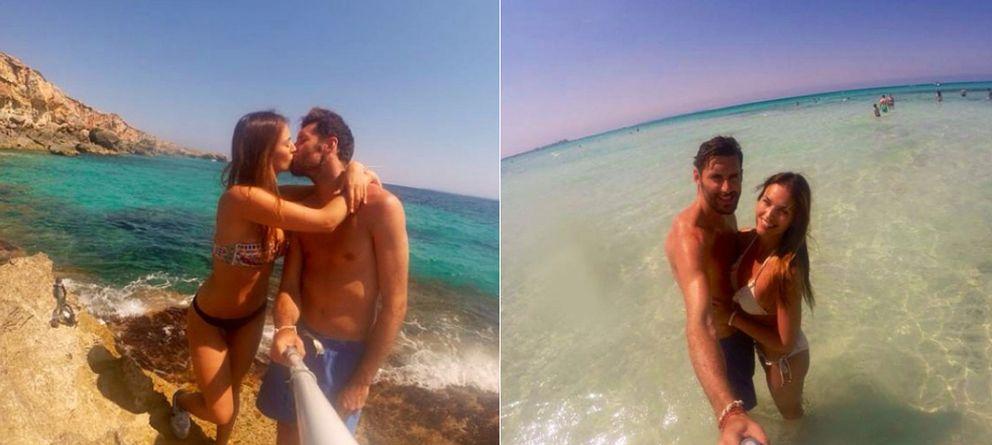 Foto: Helen Lindes y Rudy en Mallorca durante los últimos días (Instagram)