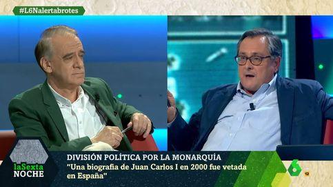 Marhuenda pierde los papeles con Ignacio Cembrero por una polémica foto que salpica al rey Juan Carlos